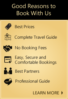 Good Reasons to Book with us